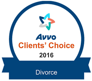 Avvo Clients Choice 2016: Divorce