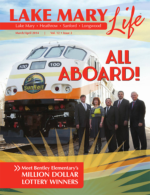 Lake Mary Life Magazine - Front cover of April/March 2014 edition