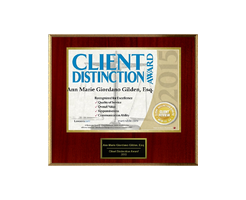 Martindale Hubbell's Client Distinction Award